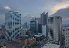 Concrete Jungle (player_pleasure) Tags: mavic magicproplatinum ariel drone columbus ohio ohiofoothills downtown buildings cityscape skyline skyscraper sunset