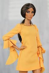 Integrity Toys Fashion Royalty Elyse Seduisante (Regina&Galiana) Tags: fashionroyalty integritytoys barbie nuface doll outfit ooak forsale ebay dress jumpsuit sun bright rayna elyse agnes giselle