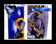 [  .   mail art memories   . ] (ǝlɐǝq ˙M ʍǝɥʇʇɐW) Tags: collage mailart sunflower woman planepenetratingbreath windhandcaughtinthedoor cellardoor convection wtf anne maybe arto posto art memory movement invalidtag 23 sg8