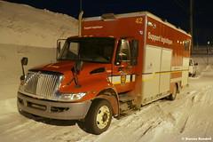 Support Logistique SPCIQ (42) (Urgence911 Qc) Tags: international pompier incendie truck fire firetruck camion ville quebec qc feu emergency urgence vehicule vehicules steven randall sauvetage secours 911 spciq