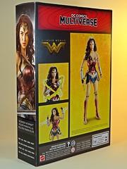 Mattel – DC Comics Multiverse – Wonder Woman – Box Art Side & Back (My Toy Museum) Tags: mattel dc comics multiverse wonder woman action figure