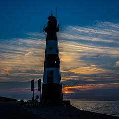 Vuurtoren (_becaro_) Tags: berend becaro stettler vuurtoren leuchtturm lighthouse breskens zeeland holland nederland netherland sunset evening