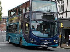 York (Andrew Stopford) Tags: ay07max yj59bue vdl db300 wright 2dl eclipse arriva max york