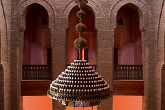 Arches & Chandelier (jarhtmd) Tags: africa morocco marrakesh eos70d architecture arch facade canon theater