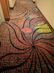 Eclipsey Carpets at the Ameristar in Council Bluffs, Iowa (BeerAndLoathing) Tags: summer cellphone roadtrip august googleandroid trip nexus6p android eclipsetrip 2017 google councilbluffs iowa unitedstates us