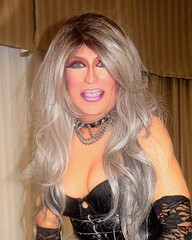 Cortney - Black and Silver - A smile and some cleavage..... (Cortney10100) Tags: purple lavender anderson cortney black people nails thigh stilettos crossdresser crossdress transvestite transsexual trannie tranny femme highheels heels transgender tgurl tgirl tg tv red m2f mtf transvista cd feminized xdresser silver gray