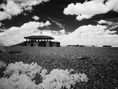 Orford Ness IR. Explored. (awphoto3) Tags: orfordness awre infrared ir lumix coast suffolk