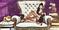 POST ★☆ 1K282 ★☆ (♕ Xaveco Mania - Jhess Yoshida ♕) Tags: navycopper glitzz ncore blackbantam krescendo foxcity nutmeg secondlifephotography secondlifeblog secondlife sexy girl fameshed equal10 event rld kustom9