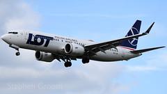 LOT Boeing 737-8 MAX SP-LVA (StephenG88) Tags: londonheathrowairport heathrow lhr egll 27r 27l 9r 9l boeing airbus april16th2018 16418 myrtleavenue renaissanceheathrow 737 max 738 738max 7378 7378max splva lot lotpolishairlines lo