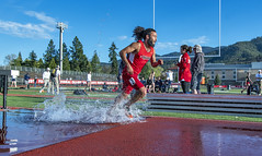 Steeplechase (acase1968) Tags: sou track field ben stevens nikon d500 nikkor 2485mm water ashland cascade conference southern oregon university raiders