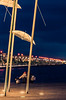 Salonica (Vagelis Pikoulas) Tags: thessaloniki north greece macedonia umbrella umbrellas canon 6d tamron 70200mm vc blue hour winter february 2018 bokeh blur people night