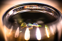 Hot Spot Reflections (Of Light & Lenses) Tags: reflections burning lens vintagelens mzuiko zuiko1250mm zuiko40200mm sonya7rii lensmacro burninglights abstract vintageprimes altglass hotlens achim macrostudies speciallighteffects abstraction hotspot brennpunkt manual