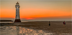 New Brighton Sunset (Away for a while, thanks.) Tags: perchrock lighthouse newbrighton wallesey sunset beach reflection walkers sand rivermersey liverpool canon eos 7dmarkii groyne wirral camera