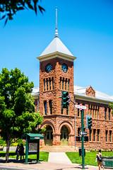 Coconino County Courthouse (benakersphoto) Tags: coconino flagstaff az arizona architecture building green grass colorful color nikon nikkor historic