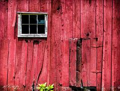 Old Barn window (MTR70) Tags: windows window red white barn wood vintage rural photography abandon door doors flickr nikon tamron