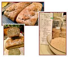 Mi pan de centeno, nueces y pasas rubias (marialuz_fernandez) Tags: ryeflour centeno honey miel bread pan sourdough masamadre walnuts nueces raisins pasasdeuva