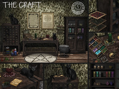 [IK] The Craft Poster ([InsurreKtion]) Tags: secondlife thefantasycollective gacha deco witch pets furniture