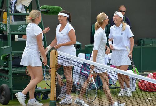 Kim Clijsters - Ladies' invitation doubles