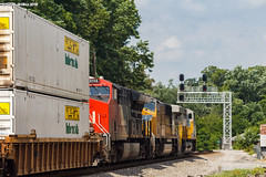 Keep Moving (nrvtrains) Tags: 217 christiansburgdistrict cambriast intermodal cambria unionpacific christiansburg canadiannational norfolksouthern citirail virginia unitedstates us