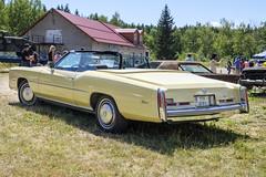 1975 Cadillac Eldorado convertible (The Adventurous Eye) Tags: 1975 cadillac eldorado convertible jkclassicsummertime2018