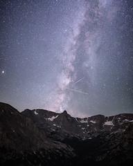 Rocky Mountain Stars (Tanner Wendell Stewart) Tags: ifttt 500px mountain peak lenticular valley mountaineering range hill ridge mountainside clouds alps