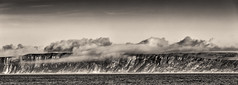 Low Clouds (Frodingham Photographer) Tags: northyorkshire fiely coast seascape clouds monochrome eastcoast