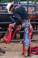 "Cowboy Up (dreamscapesxx) Tags: ""bullriding"" ""bullrider"" canoneos80d digital cowboy cowboyhat chaps ""attherodeo"" ""sandlakerodeo"" ""sandlakemi"""