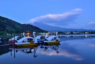 Serene,Lake Kawaguchi 河口湖
