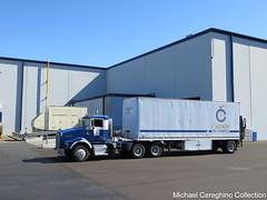 Carson Oil Company Kenworth T800 , Truck# 152 (Michael Cereghino (Avsfan118)) Tags: carson oil co company kenworth kw t800 t 800 daycab pup trailer semi lubricant trucking nexgen