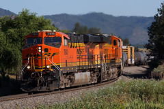 BNSF 7640 Monument 24 Jul 18 (AK Ween) Tags: bnsf bnsf7640 ge generalelectric gevo es44dc monument colorado jointline rampartrange train railroad