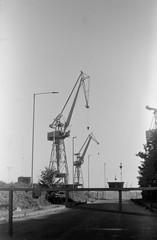 Belfast Docks 24062018 - 011 (irishlad031_vintage) Tags: belfast browniecamera blackwhite boxbrownie ulster ulsterisirish irishlad031vintage irishlad031 irish ireland film vintagephotography cityscape coantrim docks titanicquarter