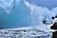 Shorebreaker (thomasgorman1) Tags: wave waves shorebreaker surf power water splash wet nikon hawaii coast beach shore crashing nature scenic colors splashing