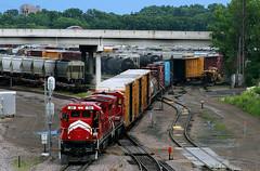 "MN Commercial's ""Belt Job"" (Jeff Carlson_82) Tags: mnnr mn ge b398 b398e ayard yard midway minneapolis minnesota stanthony junction twincities 84 train railroad railfan railway minnesotacommercial"