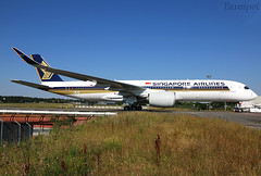 F-WZNY Airbus A350 ULR Singapore (@Eurospot) Tags: 9vsge fwzny airbus a350 a350900 ulr singapore toulouse blagnac