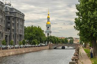Thinkings on the Kryukov (Hook`s) canal - Размышления на Крюковом канале