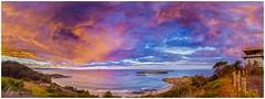 Hill 60 Port Kembla (e0nn) Tags: pentax pentaxk1 ricoh steveselbyphotography steev steveselby hill60 portkembla ocean water waves sunset cloudsstormssunsetssunrises