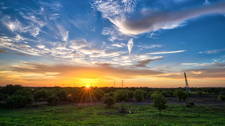 Another glorious sunset on addicks reservoir