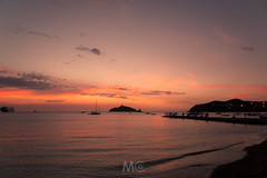 Sunset tones (Mariano Colombotto) Tags: santamarta colombia travel sunset atardecer dusk colours tones sea mar island lighthouse sky cielo nikon ships ngc