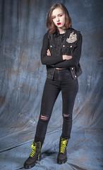 Attitude (Duncan Lawler) Tags: rosiehayto studio portrait model docmartens woman red redhead redhair
