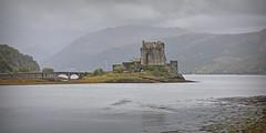 Eilean Donan Castle.. (Harleynik Rides Again.) Tags: eileandonancastle dreich lochduich scotland westerross highlands mist weather harleynikridesagain