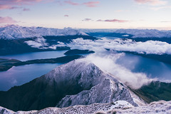Roys Peak (bruit_silencieux) Tags: ngc royspeak wanaka otago newzealand sunrise outdoor hiking mountains snow sonya7 sigma35mm14art