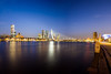 Erasmusbrug, Rotterdam (Mark Groeneboer) Tags: groen rotterdam erasmusbrug canon canon60d sims2470f28 night bluehour
