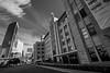 DSC01429 (Damir Govorcin Photography) Tags: blackwhite clouds wide angle buildings sydney circular quay museum contemporary art australia natural light composition