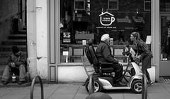 2018_106 (Chilanga Cement) Tags: fuji fujix100f friargate fujifilm cafe help wheelchair service coffee bw blackandwhite monochrome street streetphotography presto candid homeless deserving townhousecoffee62