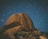 Joshua Tree rock face seen through a lensbaby at night (David Dasinger) Tags: mojave joshuatree night lensbaby rocks high desert