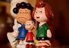 #Plastic Peanuts (Frau D. aus D.) Tags: peanuts lucy peppermintpatty linus plastic plastik macro mondays üei überraschungsei surprise rot blau grün red blue green snoopy
