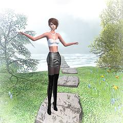LuceMia - GIULIADESIGN & PosESioN (2018 SAFAS AWARD WINNER - Favorite Blogger -) Tags: giuliadesign secondlife sl new xxxevent posesion poses bento designershowcase mirca fashion casual sensuality blog beauty models lucemia