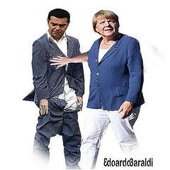 CAPRIOLA (edoardo.baraldi) Tags: migranti merkel troika tsipras grecia germania