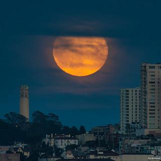 Full Moon - San Francisco