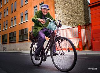 Street - Bike rider